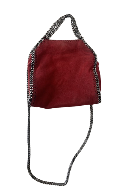 Red Leather Falabella
