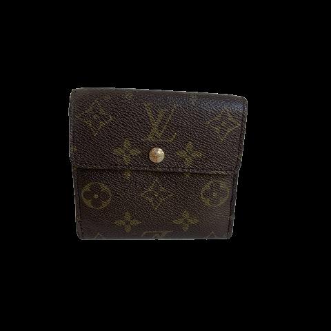 Louis Vuitton Elise Bifold Wallet Monogram Canvas