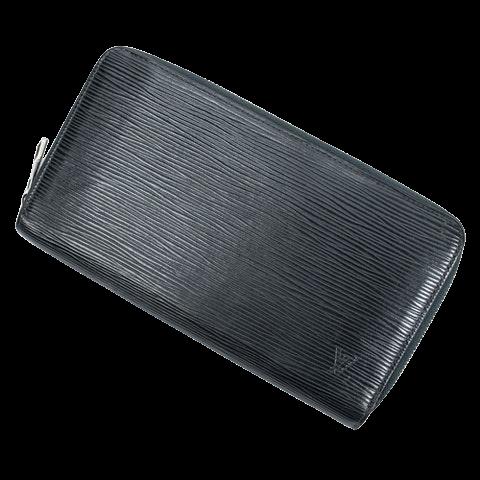 Louis Vuitton Zippy Organizer Wallet  in Dark Green Calf Leather