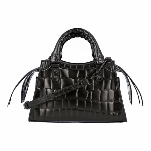 balenciaga Neo classic mini top handle bag in black