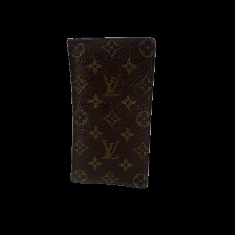 Louis Vuitton Cult Long Bifold Wallet Monogram Canvas