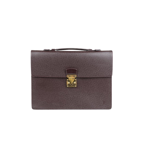 LOUIS VUITTONTaiga Serviette Ambassadeur Briefcase