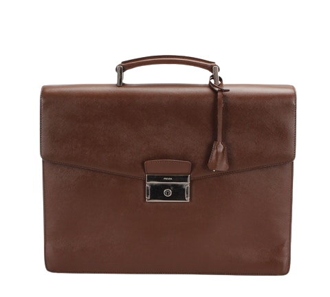 Briefcase Business Bag in Brown