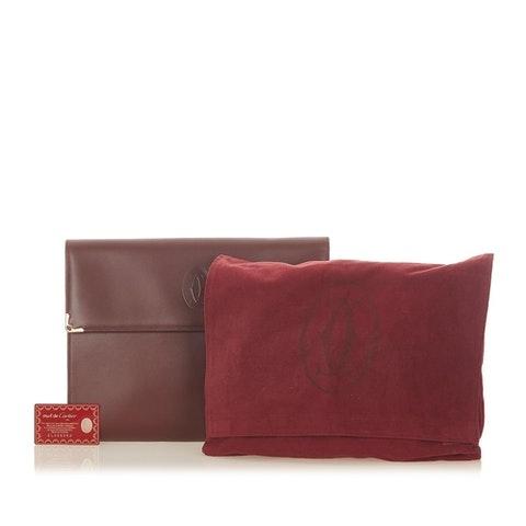 Must de Cartier Leather Business Bag