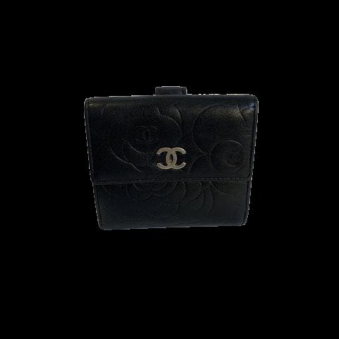Chanel Camelia Wallet Small